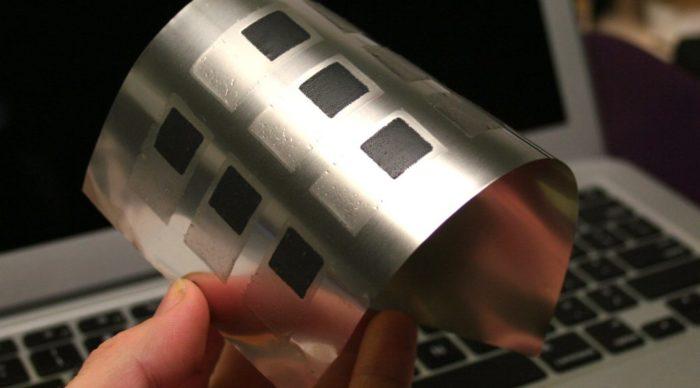 технология производства гибких дисплеев