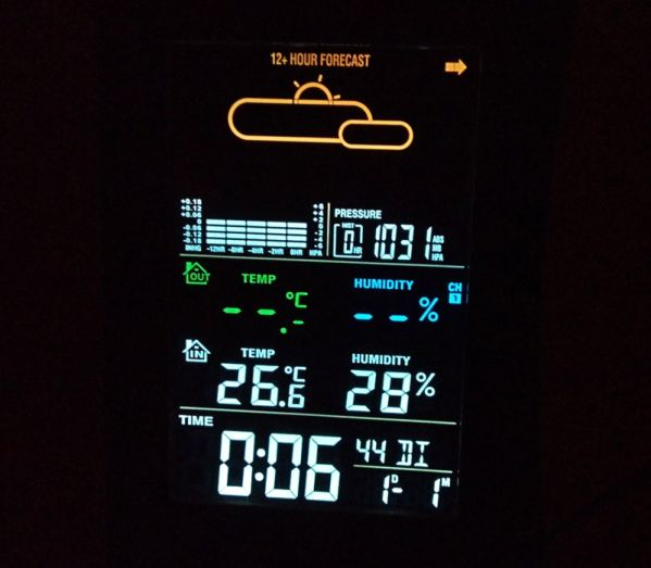 Дисплей метеостанции Ea2 EDGE ED609
