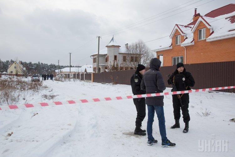 перестрелка копов под Киевом