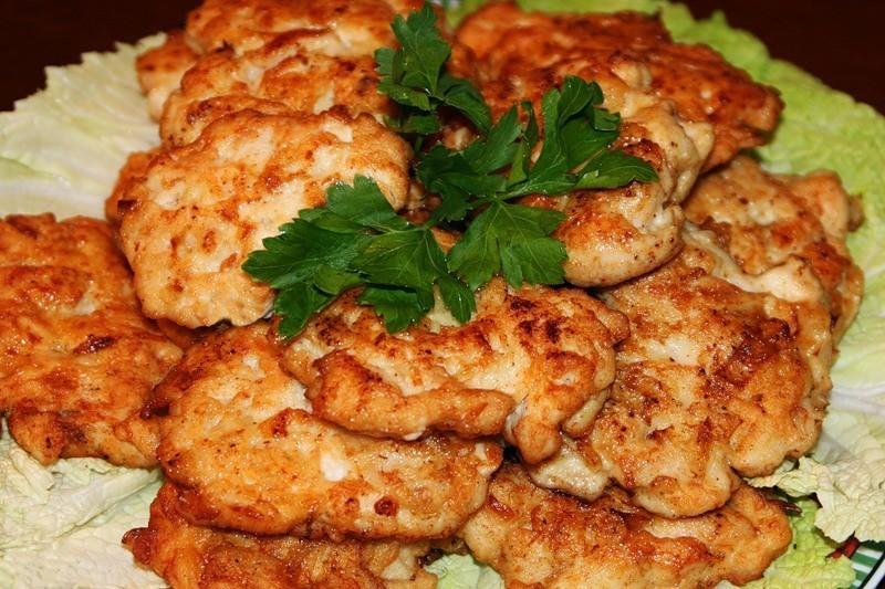 Котлеты куриные из рубленного мяса с сыром рецепт пошагово