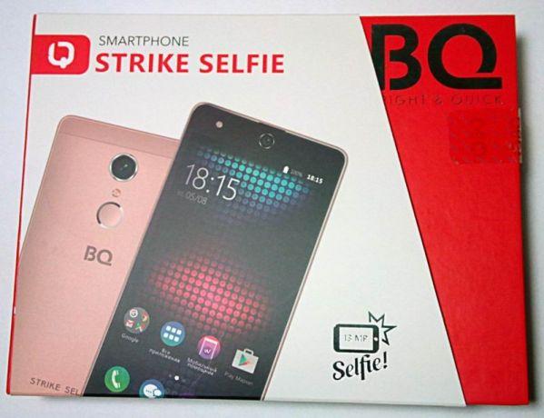 Смартфон BQ Strike Selfie