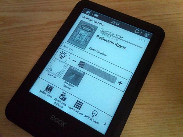 панель на электронных чернилах поколения Carta