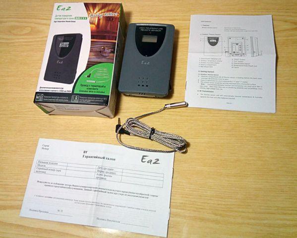Упаковка и комплектация датчика Еа2 SR111