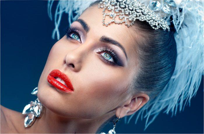 макияж для Нового года-2017