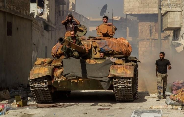 выход боевиков из Алеппо