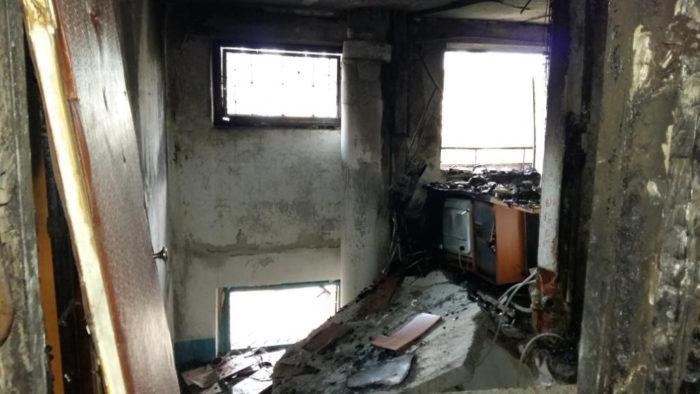 взрыв в общежитии
