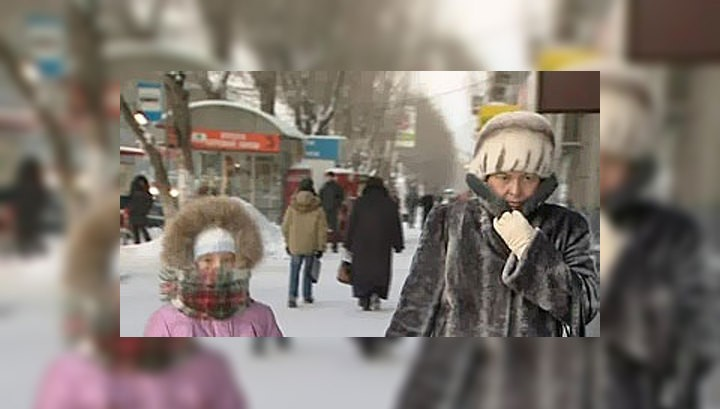 Сильные морозы ждут москвичей