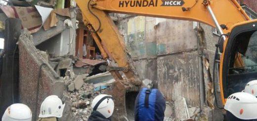 В Казахстане обрушилась многоэтажка
