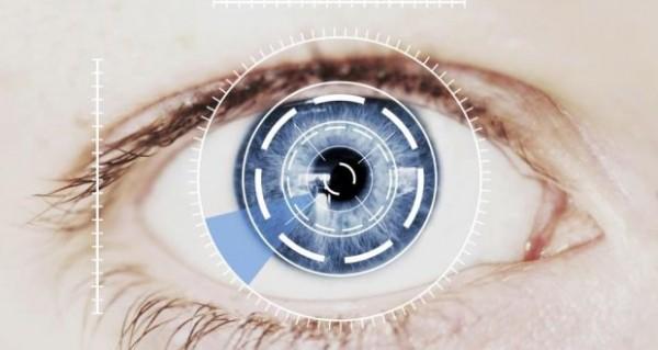 Сканер радужной оболочки глаза