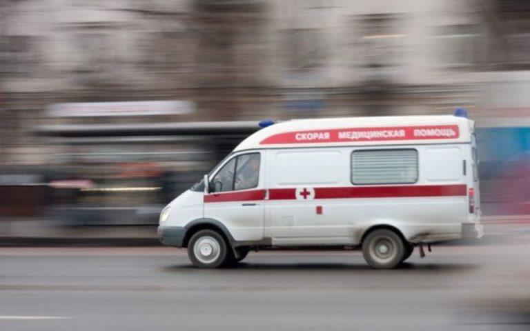 Пожарная машина сбила семь человек