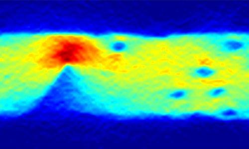 Снимок движения электрического тока