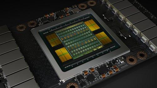 новый графический процессор Tesla V100 Volta
