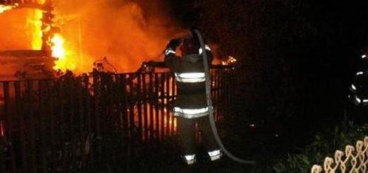Пожар в Тернопольской области