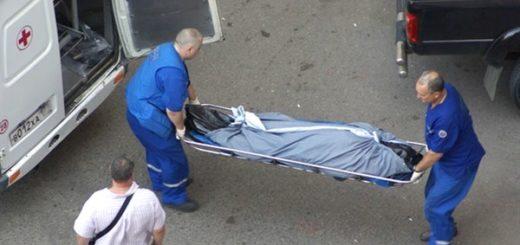 тело с простреленной головой