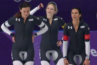 форма конькобежек из США