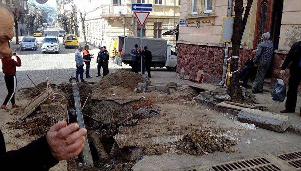 в Черновцах прогремел врзыв