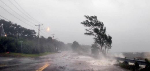 мощный ураган