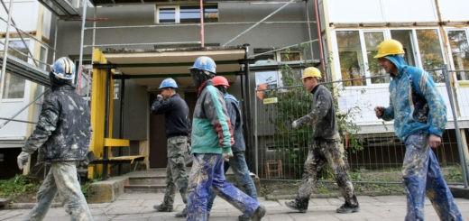 санация многоквартирных жилых домов