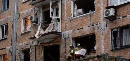 в жилом доме прогремел взрыв