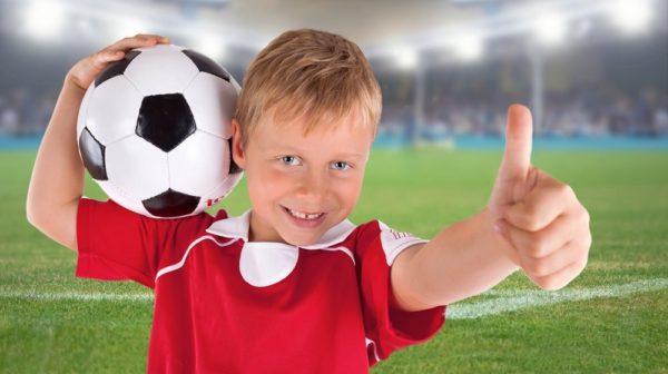 футбол детям