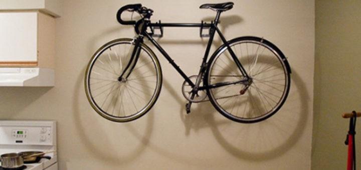 храние велосипеда в квартире