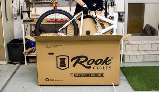 распаковка велосипеда